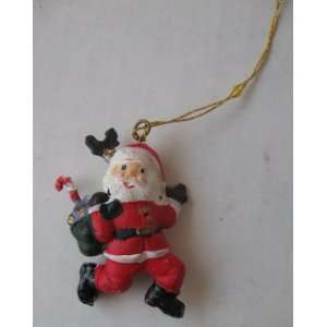 Santa Claus Christmas Xmas Tree Ornament   Small Electronics