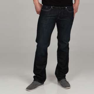 William Rast Mens Jake Straight Leg Jeans