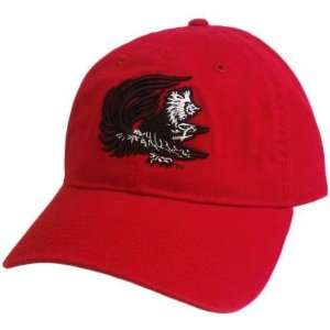 HAT CAP SOUTH CAROLINA GAMECOCKS USC RED BLACK GARMENT