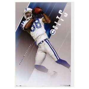 Marvin Harrison Indianapolis Colts POSTER NFL NEW RARE