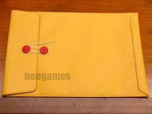 Lightweight Leather Pouch Case 4 Apple MacBook Air 11