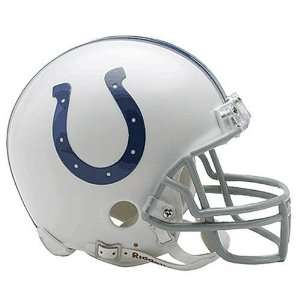 INDIANAPOLIS COLTS Official NFL Riddell Replica MINI HELMET (6 inches