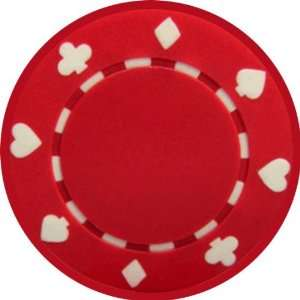 Poker Chip Art   Fridge Magnet   Fibreglass reinforced plastic