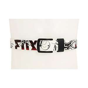 Fox Racing Victory Belt [White] XL Automotive
