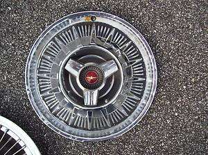 OEM 1964 Ford Thunderbird Hubcap Wheel Cover with Spinner T Bird