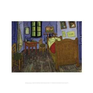 The Bedroom at Arles, c.1889 (second version) by Vincent