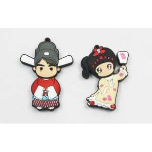 USB Flash Memory Drive 4gb Princess + Consort