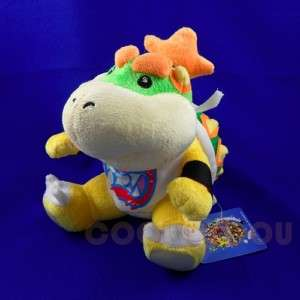 New Super Mario Bros 7 Bowser Jr Plush Doll Figure Toy