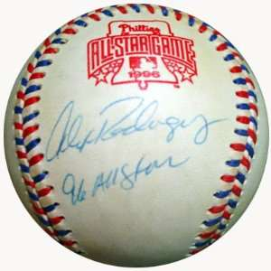 Alex Rodriguez Signed Baseball   1996 All Star PSA DNA