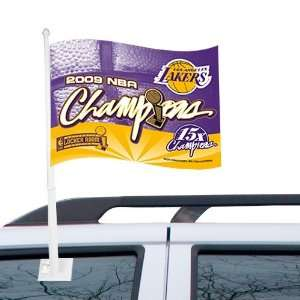 Los Angeles Lakers 11 x 15 2009 NBA Champions Purple Gold