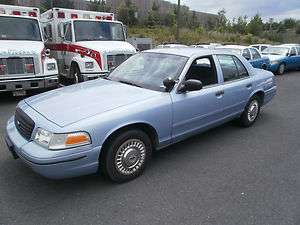 2000 Ford Crown Victoria Police Pkg