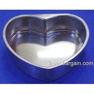 Stainless Steel Cake Pan Heart Shape Mold 8959