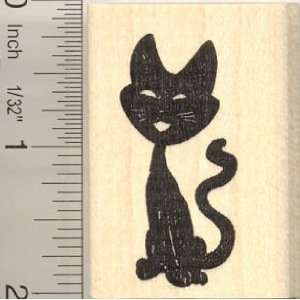 Black Cat Rubber Stamp Arts, Crafts & Sewing