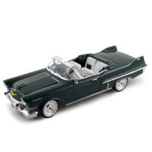 Cadillac Series 62 Convertible Diecast Car 1/32 Green Toys & Games