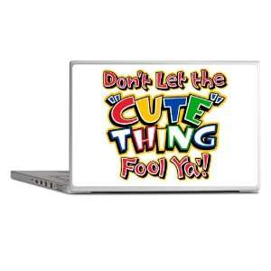 Laptop Notebook 17 Skin Cover Dont Let The Cute Thing