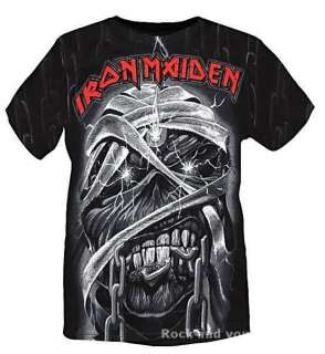 Iron Maiden Eddie Mummy Allover metal rock T Shirt L XL 2XL 3XL NWT
