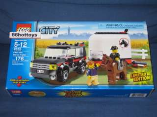 LEGO CITY 7635 4WD With Horse Trailer NEW
