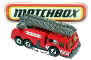 Matchbox Fire Engine Ladder Truck 5 Alarm series