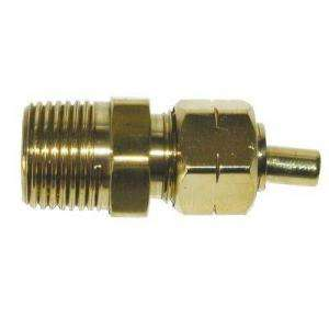 Watts 1/4 in. Brass Compression x MPT Adapter A 23