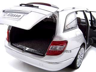 2007 2008 MERCEDES C CLASS WAGON SILVER 118 MODEL