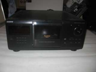 SONY COMPACT DISC PLAYER CDP CX205 MEGA STORAGE 200CD MODEL NO.CDP