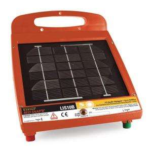 Red Snapr Solar Powered 10 Mile Fence Energizer LIS10B at The Home