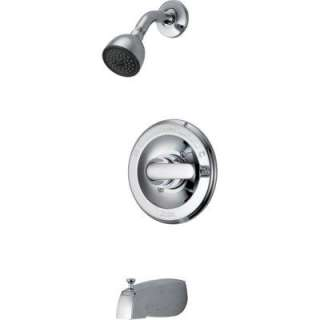 Delta Classic Single Handle Tub and Shower Faucet in Chrome 134900 at