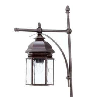 Hampton Bay Georgetown Collection Bronze Outdoor Path Light CIL1501 at