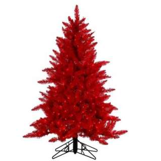 STERLING, INC. 4.5 Ft. Pre Lit Red Ashley Tree 6106 45r at The Home
