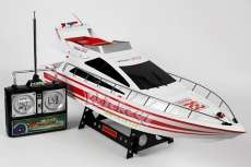 Radio Controlled RC HUGE White Atlantic Yacht R/C Speed Boat PRE ORDER