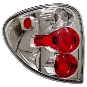 Anzo USA 211035 Dodge Caravan Chrome Tail Light Assembly   (Sold in