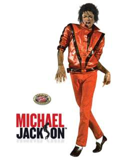 Michael Jackson Thriller Jacket Costume   Mens 80s Halloween Costumes