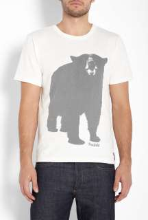 Penfield  White Big Bear T Shirt by Penfield