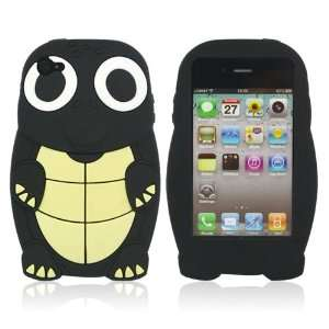 Black Turtle Designs Silicone Case for Apple iPhone 4 / 4S