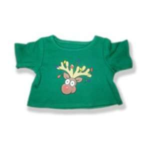 Rudolph T shirt Outfit Teddy Bear Clothes Fit 14   18 Build a bear