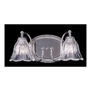 HA Framburg 8172PN Geneva 2 Light Bathroom Lights in Polished Nickel