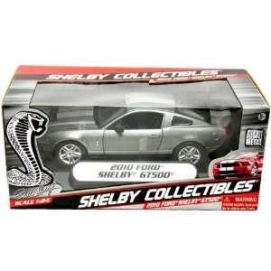 2010 Ford Shelby GT500 124 Scale (Gray) Shelby