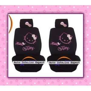 10PCS HELLO KITTY STYLISH UNIVERSAL CAR SEAT COVER SET