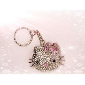 High Quality 8 GB Hello Kitty Crystal Jewelry USB Flash drive