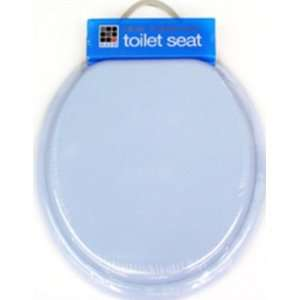 Toilet Seat MDF Light Blue Case Pack 6