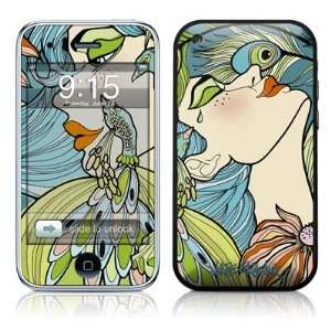 Peacock Feathers Design Protector Skin Decal Sticker for Apple 3G