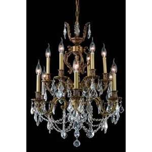 9512D24FG Elegant Lighting Marseille Collection lighting
