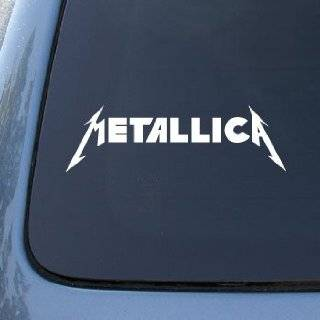 PANTERA BAND WHITE LOGO VINYL DECAL STICKER