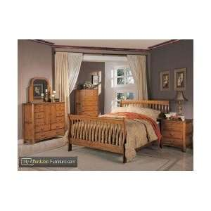 Olivia Collection Sleigh Bedroom Set by Coaster Furniture