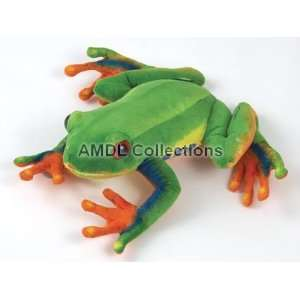 Rain Forest Tree Frog Plush Stuffed Animal Toy  Toys & Games