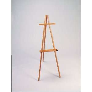 American Easel   Deluxe Wood Tripod Easel with Honey Stain