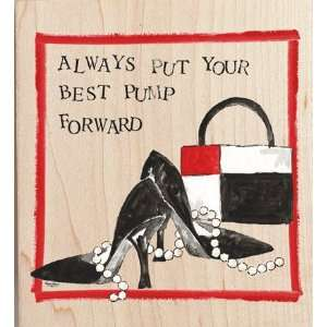 Happen Rubber stamp   Shoes Best foot forward Arts, Crafts & Sewing