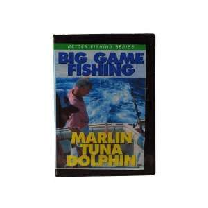 Big Game Fishing DVDs Successful Big Game Fishing Marlin, Tuna