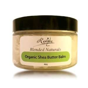 Blended Naturals Organic Shea Butter Balm, 4 oz. Health