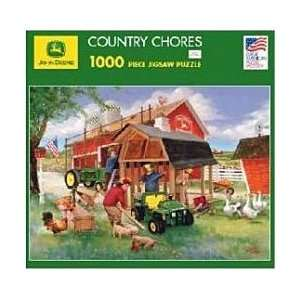John Deere Country Chores Puzzle Toys & Games